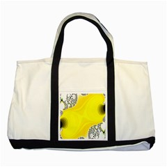 Fractal Abstract Background Two Tone Tote Bag