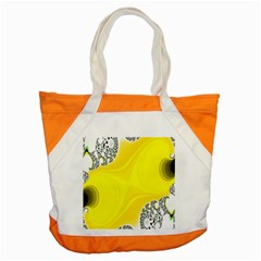 Fractal Abstract Background Accent Tote Bag