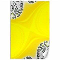 Fractal Abstract Background Canvas 24  x 36