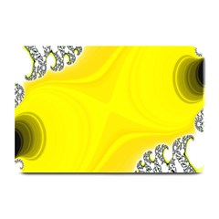 Fractal Abstract Background Plate Mats