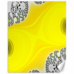 Fractal Abstract Background Canvas 11  X 14