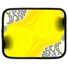 Fractal Abstract Background Netbook Case (XL)
