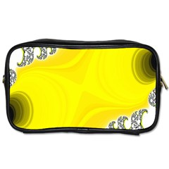 Fractal Abstract Background Toiletries Bags