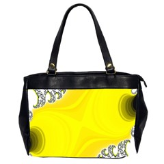 Fractal Abstract Background Office Handbags (2 Sides)