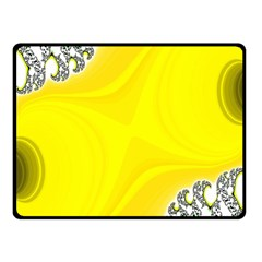 Fractal Abstract Background Fleece Blanket (small)