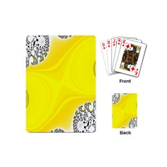Fractal Abstract Background Playing Cards (mini)