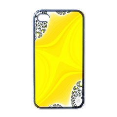 Fractal Abstract Background Apple Iphone 4 Case (black)