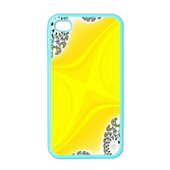Fractal Abstract Background Apple iPhone 4 Case (Color)