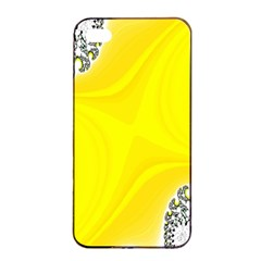 Fractal Abstract Background Apple iPhone 4/4s Seamless Case (Black)