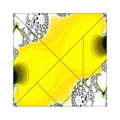 Fractal Abstract Background Acrylic Tangram Puzzle (6  x 6 )