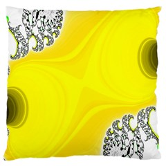 Fractal Abstract Background Large Cushion Case (one Side)