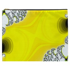 Fractal Abstract Background Cosmetic Bag (XXXL)