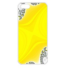 Fractal Abstract Background Apple iPhone 5 Seamless Case (White)