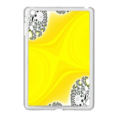 Fractal Abstract Background Apple iPad Mini Case (White)