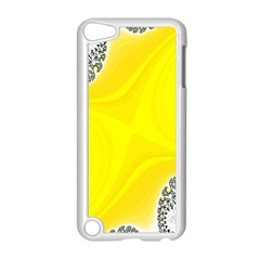 Fractal Abstract Background Apple iPod Touch 5 Case (White)