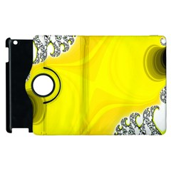 Fractal Abstract Background Apple Ipad 2 Flip 360 Case
