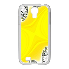 Fractal Abstract Background Samsung Galaxy S4 I9500/ I9505 Case (white)