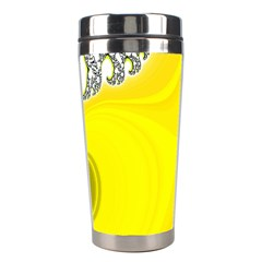 Fractal Abstract Background Stainless Steel Travel Tumblers