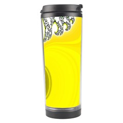 Fractal Abstract Background Travel Tumbler