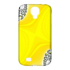 Fractal Abstract Background Samsung Galaxy S4 Classic Hardshell Case (pc+silicone)