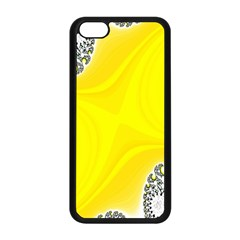 Fractal Abstract Background Apple Iphone 5c Seamless Case (black)