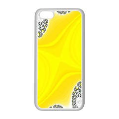 Fractal Abstract Background Apple Iphone 5c Seamless Case (white)