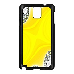 Fractal Abstract Background Samsung Galaxy Note 3 N9005 Case (black)
