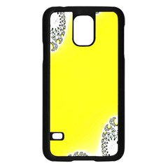 Fractal Abstract Background Samsung Galaxy S5 Case (Black)