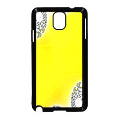 Fractal Abstract Background Samsung Galaxy Note 3 Neo Hardshell Case (black)