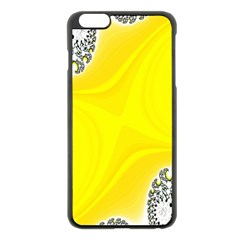 Fractal Abstract Background Apple Iphone 6 Plus/6s Plus Black Enamel Case