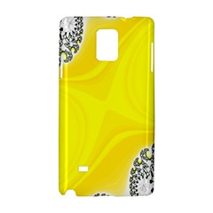 Fractal Abstract Background Samsung Galaxy Note 4 Hardshell Case