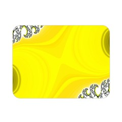Fractal Abstract Background Double Sided Flano Blanket (mini)