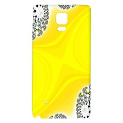 Fractal Abstract Background Galaxy Note 4 Back Case