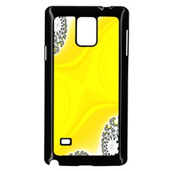 Fractal Abstract Background Samsung Galaxy Note 4 Case (black)