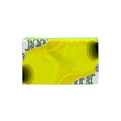 Fractal Abstract Background Cosmetic Bag (XS)