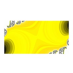 Fractal Abstract Background Satin Wrap
