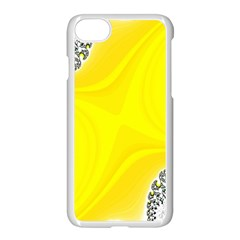 Fractal Abstract Background Apple Iphone 7 Seamless Case (white)