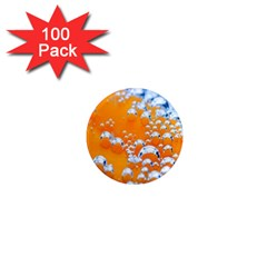 Bubbles Background 1  Mini Magnets (100 Pack)
