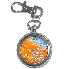 Bubbles Background Key Chain Watches