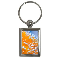 Bubbles Background Key Chains (rectangle)