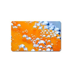 Bubbles Background Magnet (name Card)