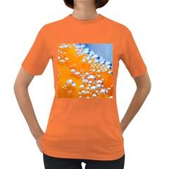 Bubbles Background Women s Dark T Shirt