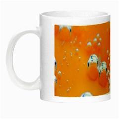 Bubbles Background Night Luminous Mugs