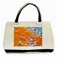Bubbles Background Basic Tote Bag