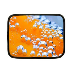 Bubbles Background Netbook Case (small)