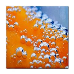 Bubbles Background Face Towel