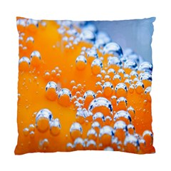 Bubbles Background Standard Cushion Case (two Sides)