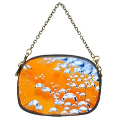 Bubbles Background Chain Purses (two Sides)