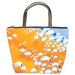 Bubbles Background Bucket Bags