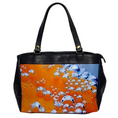 Bubbles Background Office Handbags
